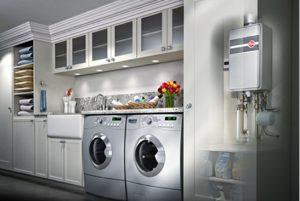 laundry room plumbing